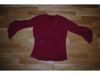 Röd amningströja från Paola Maria, storlek L - Uppsala - Röd amningströja från Paola Maria, storlek L - Uppsala