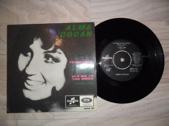 ALMA COGAN - EP - TENNESSEE WALTZ / FLY ME TO THE MOON 2. - Umeå - ALMA COGAN - EP - TENNESSEE WALTZ / FLY ME TO THE MOON 2. - Umeå