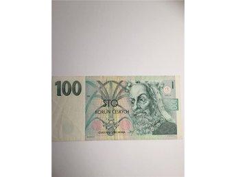 Sedel Tjeckien Banknote Czechoslovakia - Stockholm - Sedel Tjeckien Banknote Czechoslovakia - Stockholm