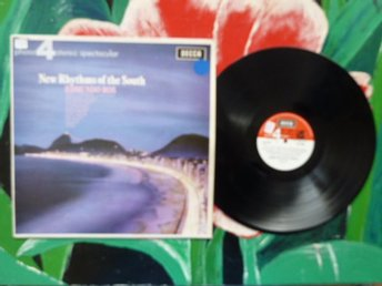 EDMUNDO ROS & HIS ORCHESTRA, NEW RHYTHMS OF THE SOUTH, WHAT A DIFFERENCE.., LP