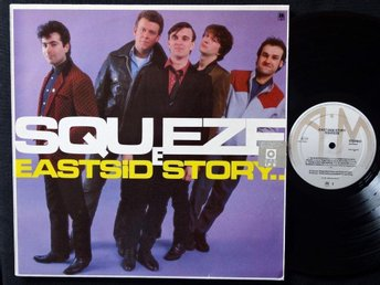 SQUEEZE (EX) – East Side Story / Vinyl LP 1981 / Elvis Costello
