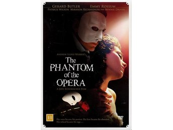 Phantom of the opera + 2 Bonusfilmer / Box (3 DVD)