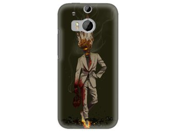 HTC One M8 Skal Cigarette Man