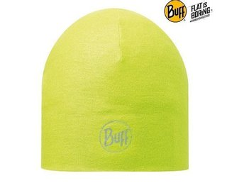 Buff – Microfiber 2 Layer Hat – Solid Flour / Reflective (PF) (Dam)