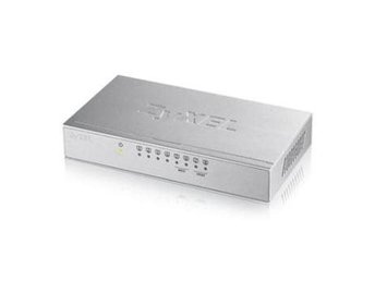 Zyxel GS-108B v3 8-Port Desktop Gigabit Ethernet Switch - metal housing