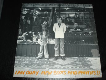 """Lp"" Ian Dury - New Boots and Panties"