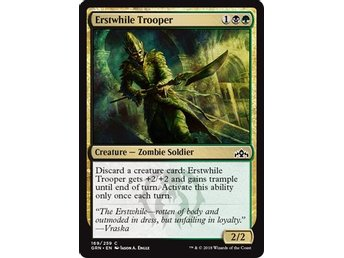 Erstwhile Trooper - Magic The Gathering