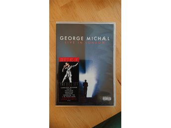 George Michael DVD - Live in London