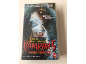 Vampires and Other Stereotypes VHS Uk, Wild Eye Horror Boobs Video Low Budget