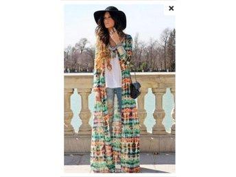 NY! Kaftan Kimono Cardigan Fransar Ombloggad Bohemisk Boho Mode,long Str:L - Shanghai - NY! Kaftan Kimono Cardigan Fransar Ombloggad Bohemisk Boho Mode,long Str:L - Shanghai
