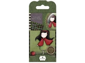 Gorjuss Collectable Mini Rubber Stamps - Little Red