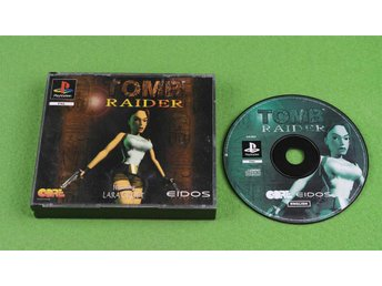Tomb Raider ENGELSK UTGÅVA Playstation ps1
