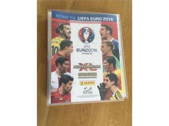 23 fotbollskort pärm UEFA Euro 2016 France Panini - Ekerö - 23 fotbollskort pärm UEFA Euro 2016 France Panini - Ekerö