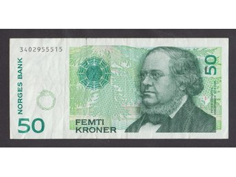 NORWAY 50 Kroner 1999 VF P46b
