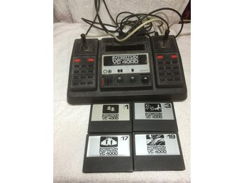 Interton electronic vc 4000 vidio computer med 4 spel
