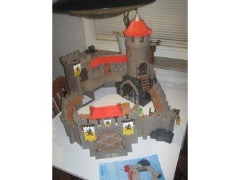 Playmobil Lion Knights Castle Borg Slott Big Fint skick Rare