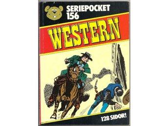 Seriepocket Nr 156 VF- Western - Vikingstad - Seriepocket Nr 156 VF- Western - Vikingstad