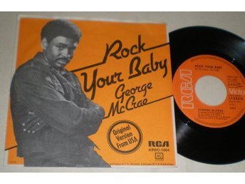 George McCrae 45/PS Rock your baby 1974 VG++