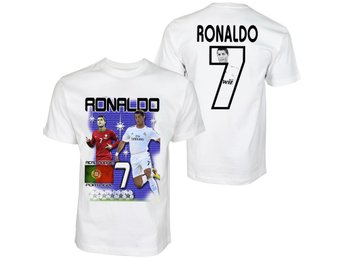 Ronaldo Portugal & Real Madrid supporter T-shirt tröja STLK :  X-Small