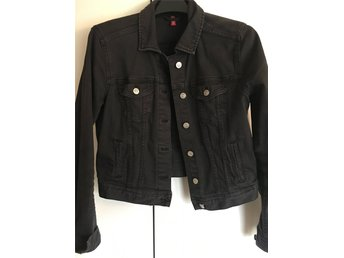 Stålgrå Jeans jacka strl. 40 - Arvika - Stålgrå Jeans jacka strl. 40 - Arvika
