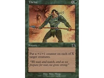 MTG-kort: Thrive [Prophecy] - Hova - MTG-kort: Thrive [Prophecy] - Hova