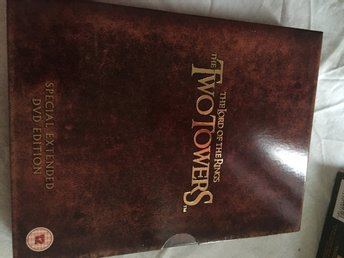 Nyskick Dvd De två tornen the two towers special extended edition
