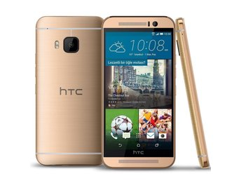 HTC ONE M9 Gold Olåst 32GB 3GB Ram