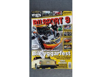 Bilsport nr 9 2009: Ford Mustang 1966, Renault Clio Sport, VW Golf GTI