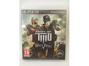 PS3 Army of two THE DEVIL'S CARTEL