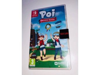 Poi Explorer Edition // Nintendo Switch // NY // Billigast 389 kr