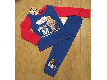 ~Nytt ~ Disney Star Wars Pyjamas Stl 18-24 mån ~ London UK~