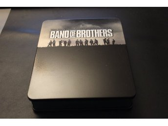Bluray-box: Band of Brothers (Tom Hanks) (Plåtbox)