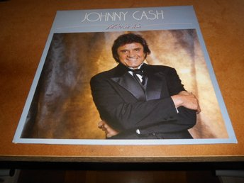 Johnny Cash - Believe In Him (LP) 1985 NM!!