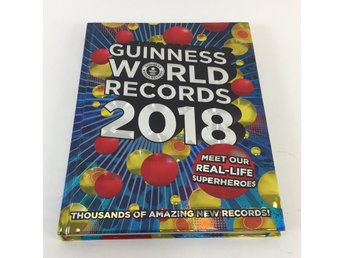 Guinness World Records, Bok, 2018