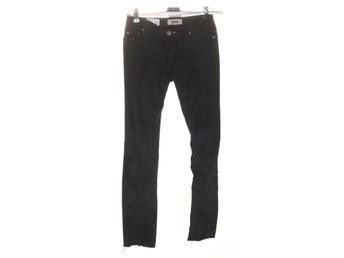 Acne, Jeans, Strl: 25/32, kex wet black, Svart
