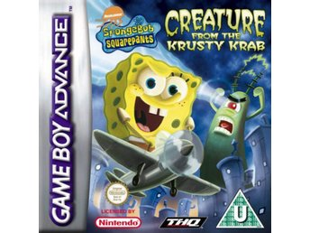 Spongebob Squarepants: Creature from the Krusty Krab - Gameboy Advance
