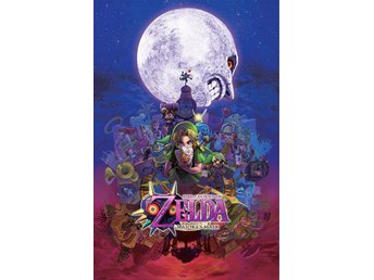 The Legend of Zelda Poster Pack Majoras Mask 61 x 91 cm