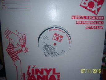 Jean Rich - I don't know what comes over me - Promo maxi Beat Box