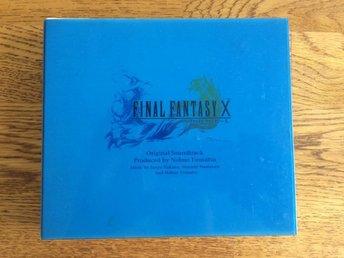 Final Fantasy X 10 Official Original Soundtrack Digicube OST - Göteborg - Final Fantasy X 10 Official Original Soundtrack Digicube OST - Göteborg