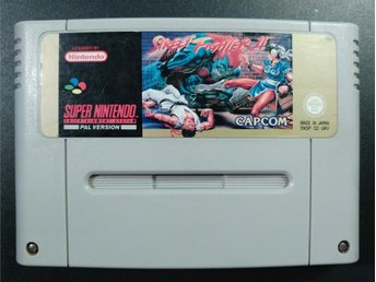 Street Fighter II till Super Nintendo SNES | PAL