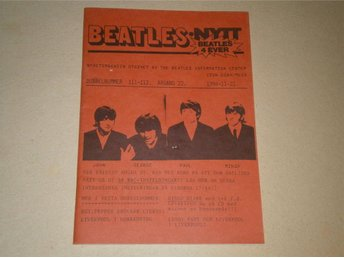 BEATLES-NYTT #111-112 (November 1994) - Fint Skick!