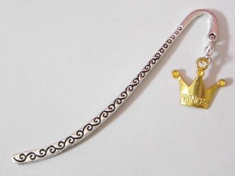 Krona bokmärke / Crown bookmark