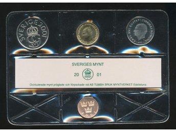 2001 Mp Mjukplast Från myntverket - Västra Frölunda - 2001 Mp Mjukplast Från myntverket - Västra Frölunda