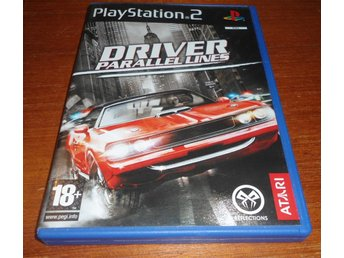 Driver Parallel Lines - PS2 / Playstation 2