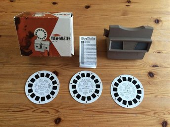 Sawyers View-Master mod G View Master komplett med kartong