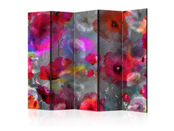 Rumsavdelare - Painted Poppies II Room Dividers 225x172