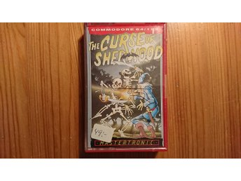COMMODORE 64 originalspel... THE CURSE OF SHERWOOD