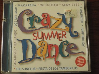 Crazy Summer Dance CD:Macarena,Whigfield,Sexy Eyes,Los Del Mar,2 Unimited