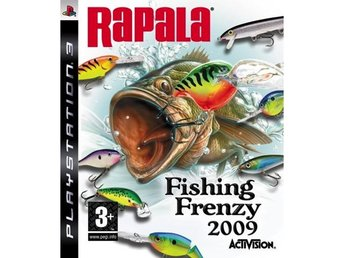 Javascript är inaktiverat. - Stockport, Cheshire - Rapala Fishing Frenzy 2009 Activision has worked closely with developer Fun Labs and Rapala, the world's largest manufacturer of fishing lures and the number one fishing brand in the world, to create an angling title that appeals to  - Stockport, Cheshire