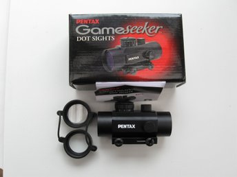 NYTT  -  PENTAX  PRECISION  PLEX  GAMESEEKER  RD 10  DOT  SCOPE.